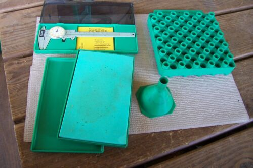 Lot RCBS Reloading Accessories Parts LUBE PAD - MICROMETER - LOAD BLOCK - FUNNEL