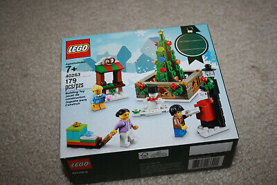 Lego 40263 2017 Christmas Town Square Limited Edition New Sealed Retired