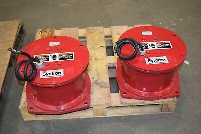 Syntron Magnetic Vibrator Fmc Syntron Magnetic Vibrators Unusednew