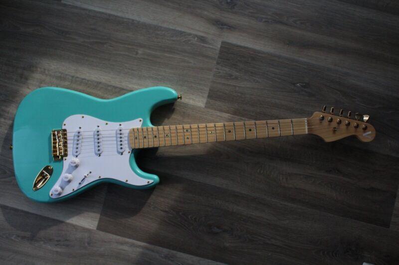 Vulcan Guitars S-Type (Seafoam Green)
