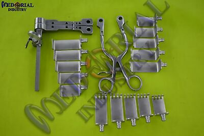 Neuro Spine Caspar Cervical Retractor Complete Set Orthopedic Instruments