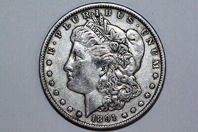 For Sale An 1891 P Morgan Silver Dollar (VAM 2A) That Grades Very Fine (MDX1963)
