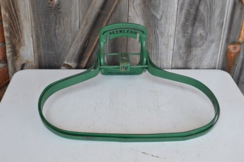 Vintage Peerless Burlap Feed Sack Bag Holder Vintage Old Wall Mount