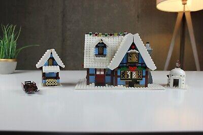 !!Retired!! LEGO Creator Winter Village Cottage Set (10229) Pre-Owned