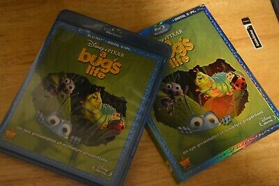 Disney Pixar A Bug's Life Blu-ray with slipcover