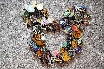 Disney Trading Pin Lot 200 Hidden Mickey Delivered To Wdw Resort Hotel Or Park