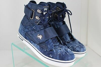 - Vlado Atlas ll 2 M Mens Footwear Hi-Top Shoes Navy IG-1500-142 Sz 7M Skate Shoes