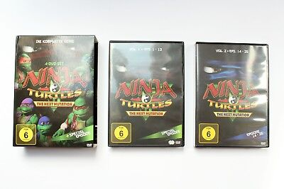 Ninja Turtles - The Next Mutation, Serie, 4 DVDs, DVD Video Film