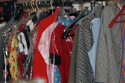 wiederverkaufpackung 100 kleidung und zubehör vintage frauen jahr 40 50 60 70 80
