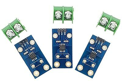 3x Acs712 Current Sensor Module With 30a Analogue Sensing Range For Arduino