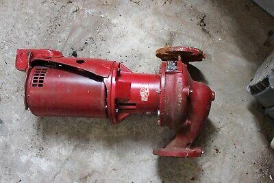 Bell Gossett 60 2 X 5.25 1 Hp Cast Iron Circulator Pump 1725rpm 3ph