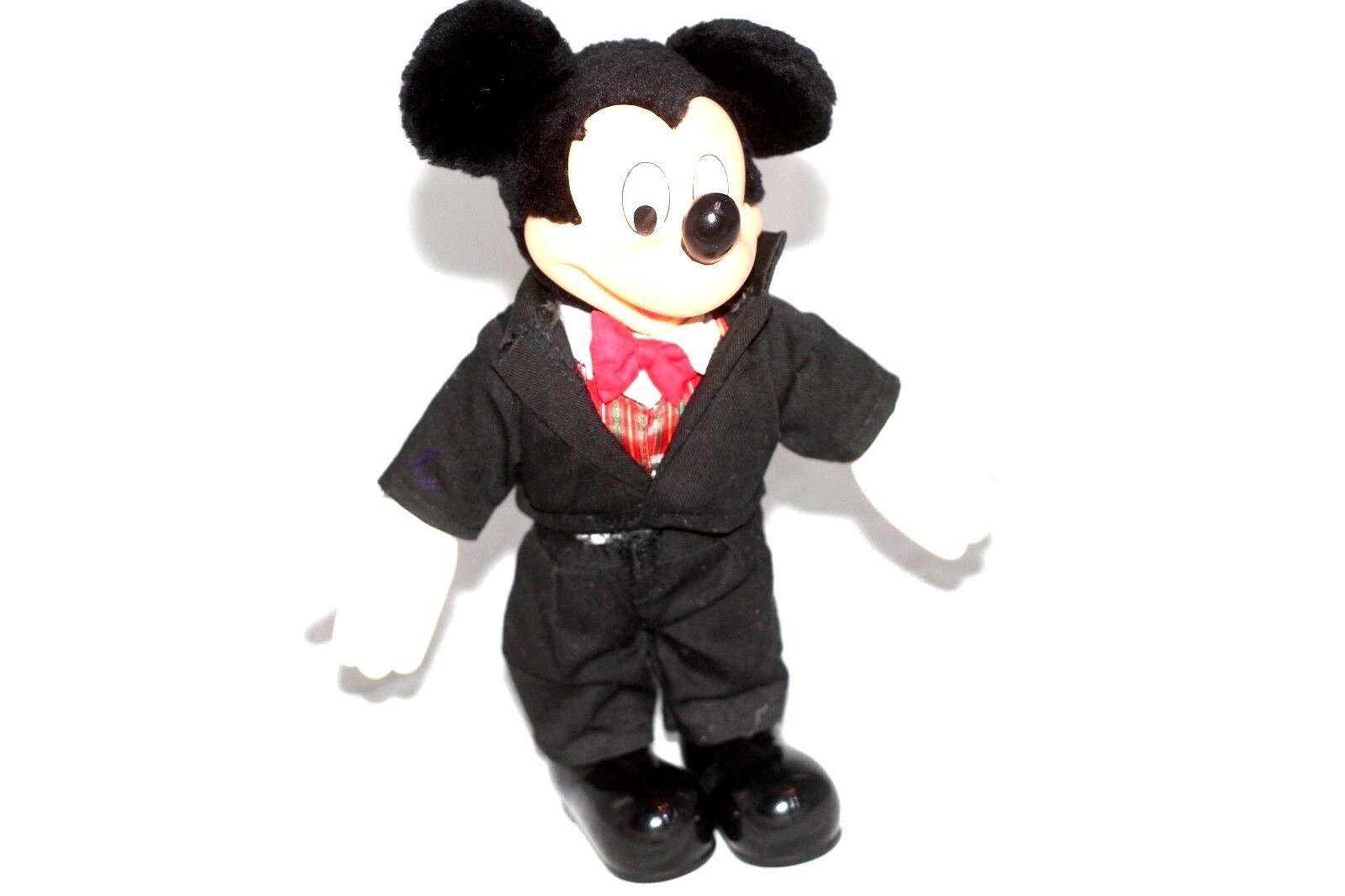 Disney Mickey Mouse In Tuxedo Plush Toy - $5.09