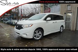 2011 Nissan Quest LE CUIR 2 TOIT OUVRANT NAV CAMERA TV/DVD