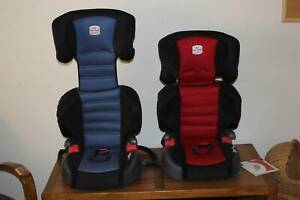 Britax 4-8 years car seat. One blue, one red.