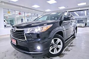 2016 Toyota Highlander  LIMITED ONE OWNER, CLEAN CARPROOF, NON S