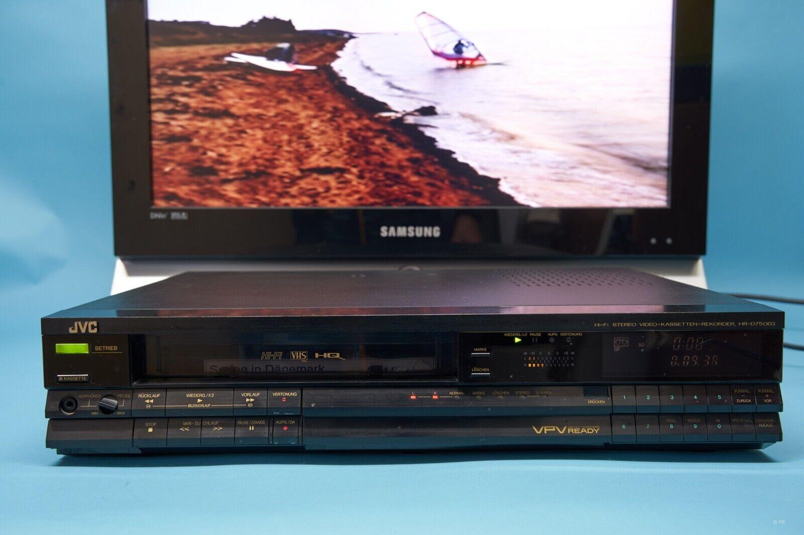 JVC HR-D750EG VHS-Videorekorder