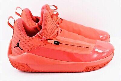 Nike Jordan Jumpman Hustle Mens Size 10 Shoes Infrared AQ0397 600