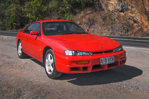 IMMACULATE 1998 NISSAN 200SX S14 S2 SPORTS 5 SP MANUAL SINGLE OWNER