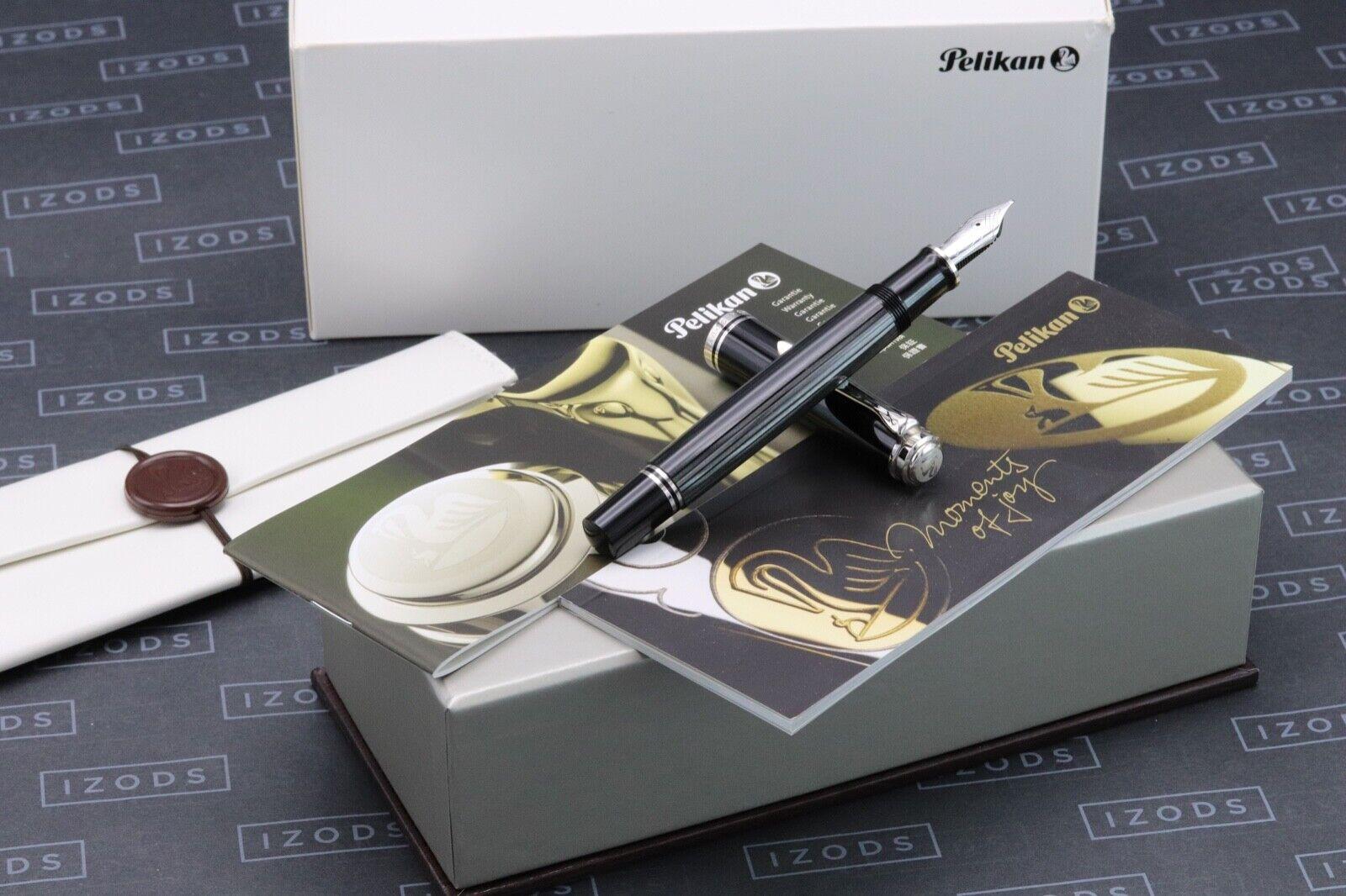 Pelikan Souveran M805 Stresemann Fountain Pen - CIB Nib
