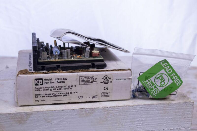 KB KBIC-120 DC Motor Speed Control