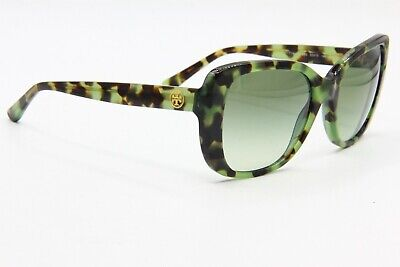 NEW TORY BURCH TY 7114 1703/8E HAVANA GREEN AUTHENTIC SUNGLASSES FRAME RX (Tory Burch Havana Sunglasses)
