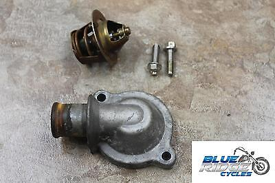 07 TRIUMPH SPRINT 1050 ST ABS OEM THERMOSTAT HOUSING COOLING COOLER WA