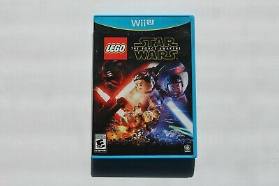 LEGO Star Wars: The Force Awakens (Nintendo Wii U, 2016) COMPLETE