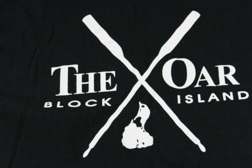 The Oar Bar Block Island Rhode Island medium black t shirt LONG SLEEVE!