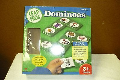 LEAP FROG DOMINOES EDUCATIONAL GAME   -   NEW