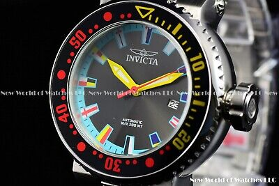 Invicta Men 52mm Pro Diver Automatic Blue Dial FINDING NEMO Multicolor SS Watch