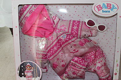 ZAPF CREATION Baby Born Deluxe Schnee Set NEU & OVP