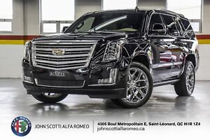2018 Cadillac Escalade PLATINUM 22 INCH, 360 HEADS UP DISPLAY AN