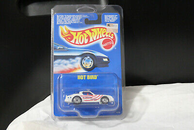 1990 HOT WHEELS HOT BIRD INTERNATIONAL CARD ALL AMERICAN UH RIM MINT IN PROTECTO