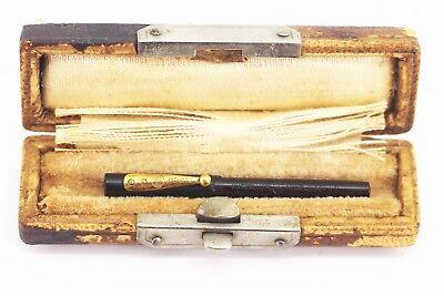 "Vintage Waterman's 000 "" WORLD'S SMALLEST  Fountain Pen "" Eyedropper MINT Boxed"