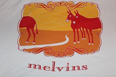 Orig. NEVER WORN~Melvins 2002 Hostile Ambient Takeover~TOUR SHIRT tool mastodon