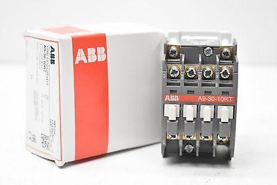 NIB ABB A9-30-10RT-34 Non-Reversing IEC Contactor 208V 60Hz 1SBL141010RT3410