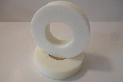 9191) PA 6, Polyamid, Hohlstab, Rohr, natur, Ø 149/72mm , gebraucht gebraucht kaufen  Falkenau