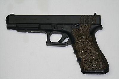 Competition Grip (BROWN Gun GRIP TAPE pistol FITS 17 22 31 34 35 37 HANDGUN,NON SLIP)
