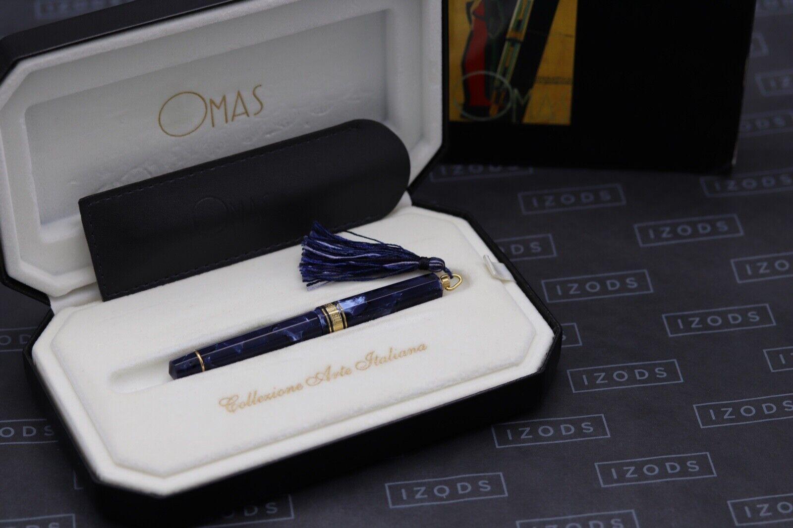 Omas Princess Blue Royale Celluloid Fountain Pen 10