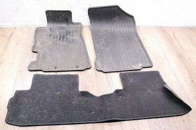02-06 Acura RSX Type-S  FRONT WEATHER MATS AND REAR MAT