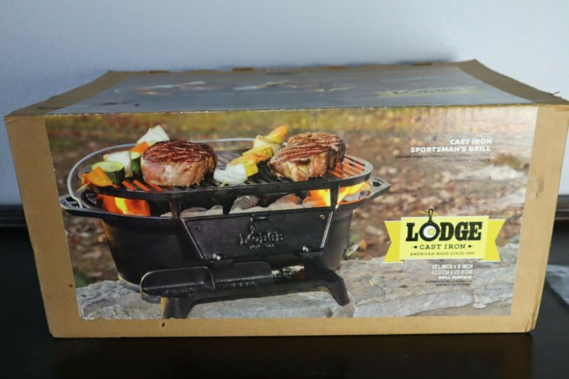 Logde Cast Iron Sorts-mans Grill ( Discontinued)