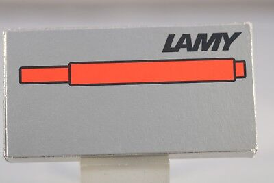 Lamy T10 Red Ink Refills x 5 - Germany