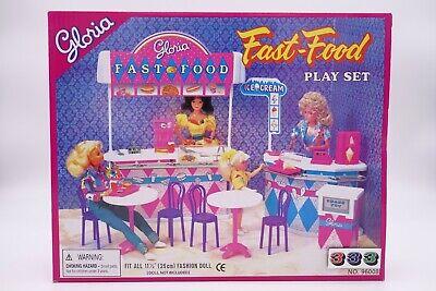 Gloria,Barbie Size Doll House Furniture/ Fast-Food Play Set