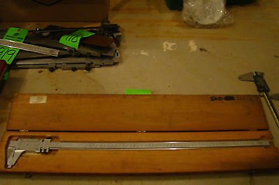 Starrett No.123m Vernier Caliper W Case 650mm Measurment Size