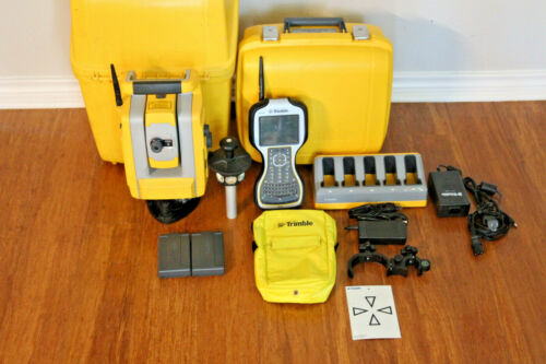 "Trimble S3 5"" DR Robotic Total Station Setup w/ TSC3 Access 2017.24, Calibrated"