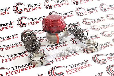 TIAL MV R MVR 44mm Wastegate RED With V Band and Flanges All Springs 002951