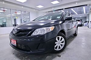 2012 Toyota Corolla CE ONE OWNER,CLEAN CARPROOF,NON-SMOKER, POWE