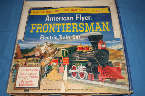 Original American Flyer #20550 The Frontiersman Set Box w/Track & Transformer