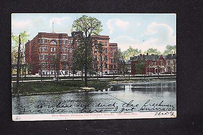 Vintage Postcard - Columbus OH - Ohio State Medical School - Hospital - 1910