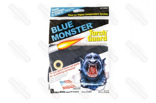 "Blue Monster 71032 Torch-Guard Heat Shield, 9"" x 12"" Flame Blanket"